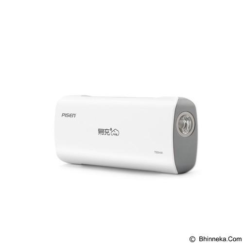 PISEN Easy Power IV ODV 7500mAh - Apple White (Merchant) - Portable Charger / Power Bank