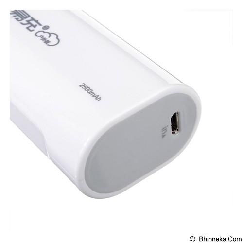 PISEN Easy Power ODV 2500mAh - Apple White (Merchant) - Portable Charger / Power Bank