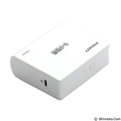 PISEN Wireless P Station 5000mAh - Apple White (Merchant) - Router Consumer Wireless