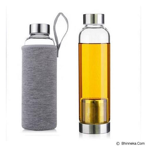 PIXEL99 Infuser Bottle 420ml - Grey - Botol Minum