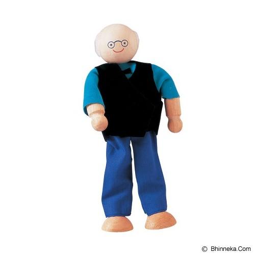 PLAN TOYS Grandfather Doll [PT9850] - Boneka Karakter / Fashion