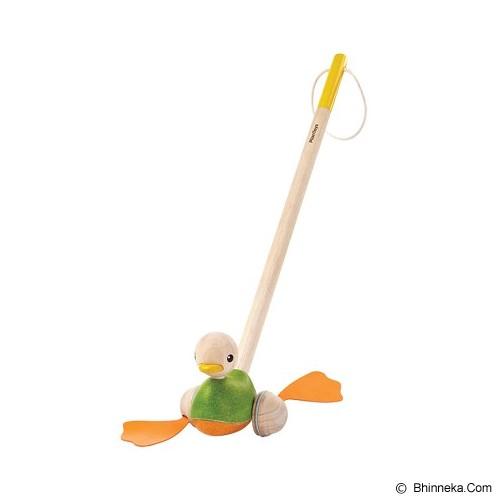 PLAN TOYS Push Along Duck [PT5626] - Mainan Simulasi