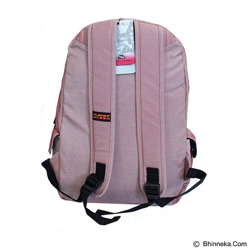 PLANET OCEAN Backpack [TPR600198] - Red - Tas Punggung Sport / Backpack