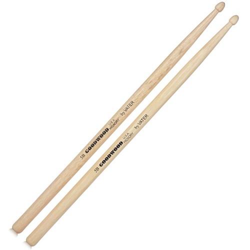 VATER Goodwood Drum Stick Wood Tip 5B [GW5BW] - Stick Drum