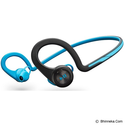 PLANTRONICS Backbeat Fit With Neoprene Armband - Blue - Headset Bluetooth