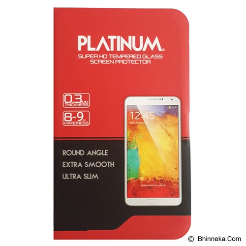 PLATINUM One Plus One Tempered Glass Screen Protector - Screen Protector Handphone