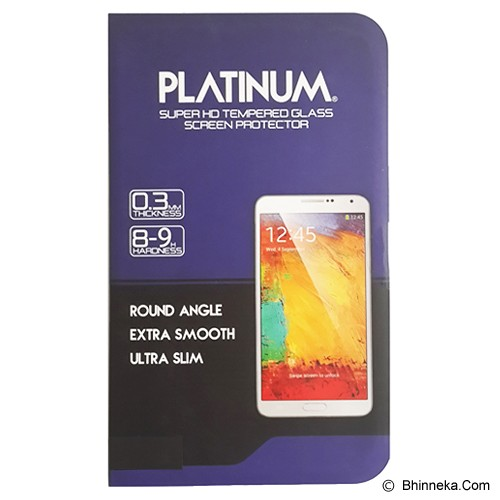 PLATINUM Samsung Galaxy Note 3 Privacy (Anti Spy) Tempered Glass Screen Protector - Screen Protector Handphone