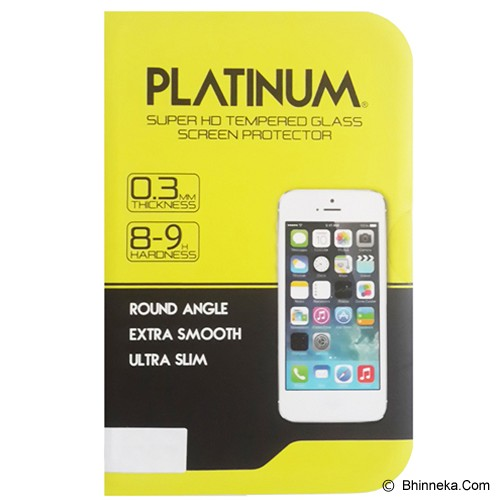 PLATINUM Samsung Galaxy S4 Mini Tempered Glass Screen Protector - Screen Protector Handphone