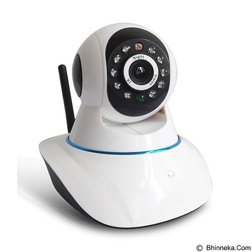 PLATINUM Wireless IP Camera Turbo [IP-P01] - White (Merchant) - CCTV Accessory