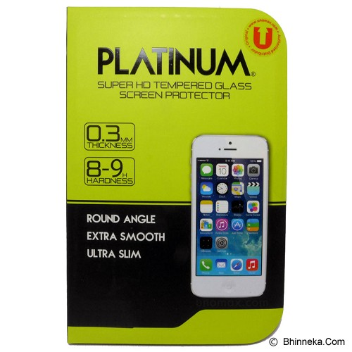 PLATINUM Apple iPhone 4/4s Privacy (Anti Spy) Tempered Glass Screen Protector - Screen Protector Handphone