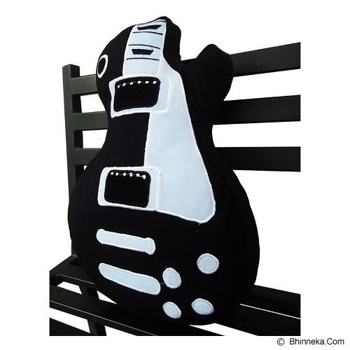 PLATPE Bantal Gibson Les Paul - Black - Bantal Dekorasi