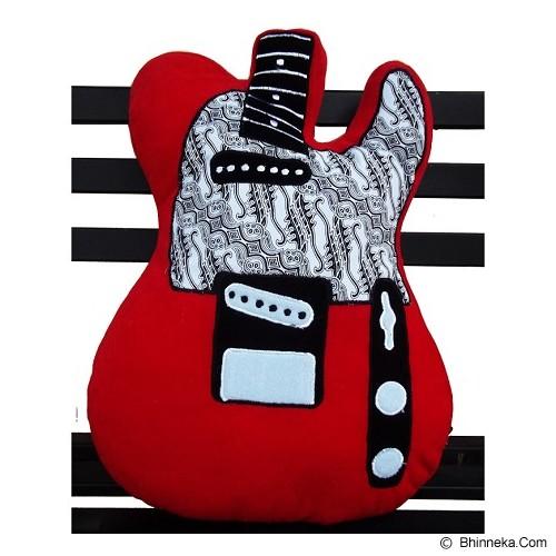 PLATPE Bantal Telecaster - Red - Bantal Dekorasi