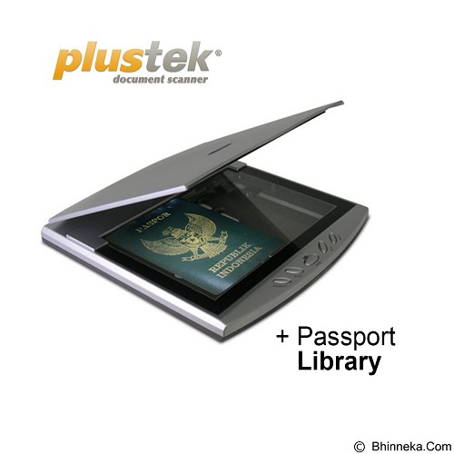 PLUSTEK OpticSlim 550 Plus + Passport Library - Scanner Home Flatbed
