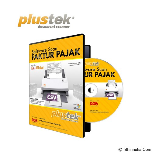 PLUSTEK SmartOffice [PS406] + Software Scan Faktur Pajak - Scanner Multi Document