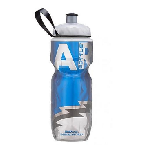 POLAR BOTTLE Water Bottle 600ml - Blue Big Bear - Sport Water Bottle / Botol Minum