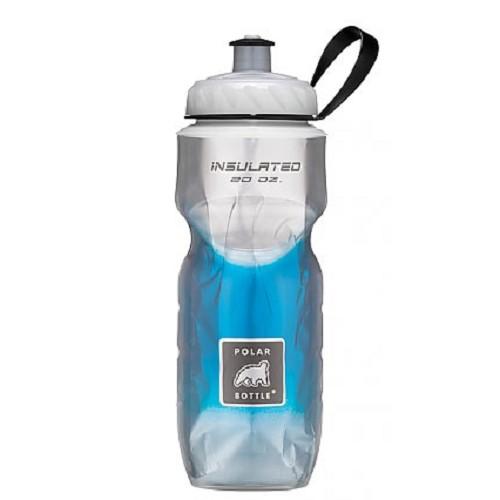 POLAR BOTTLE Water Bottle 600ml - Blue Fade - Sport Water Bottle / Botol Minum