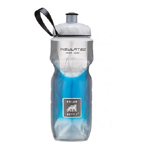 POLAR BOTTLE Water Bottle 600ml - Blue Pattern - Sport Water Bottle / Botol Minum