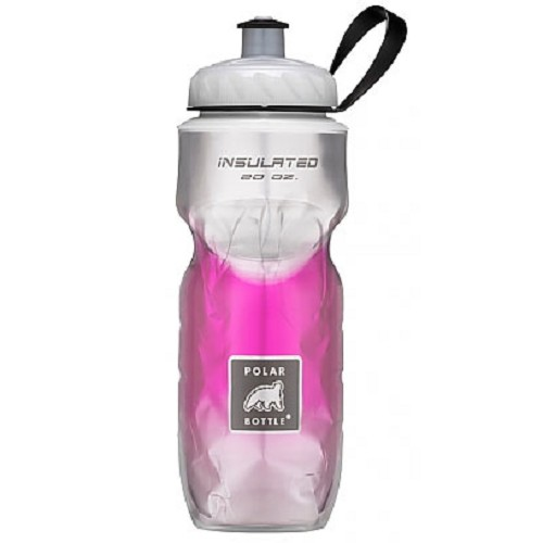 POLAR BOTTLE Water Bottle 600ml - Pink Fade - Sport Water Bottle / Botol Minum