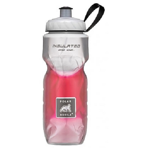 POLAR BOTTLE Water Bottle 600ml - Red Fade - Sport Water Bottle / Botol Minum