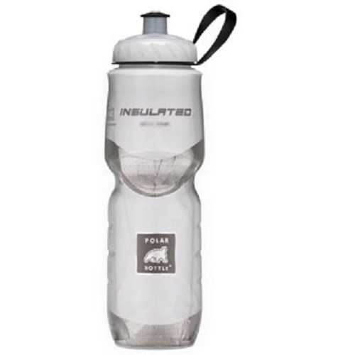 POLAR BOTTLE Water Bottle 600ml - White - Sport Water Bottle / Botol Minum