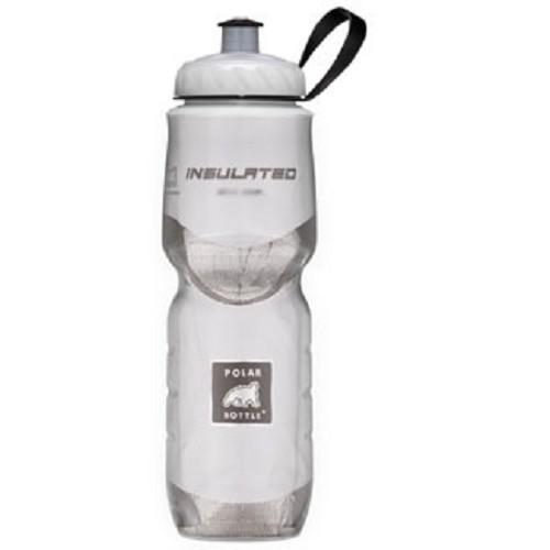 POLAR BOTTLE Water Bottle 600ml - White - Sport Water Bottle / Botol Minum