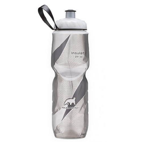 POLAR BOTTLE Water Bottle 700ml - Black Pattern - Sport Water Bottle / Botol Minum