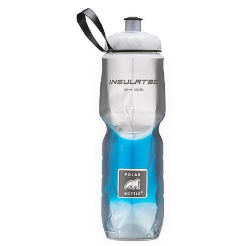 POLAR BOTTLE Water Bottle 700ml - Blue Fade - Sport Water Bottle / Botol Minum
