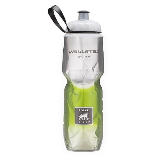 POLAR BOTTLE Water Bottle 700ml - Green Fade - Sport Water Bottle / Botol Minum