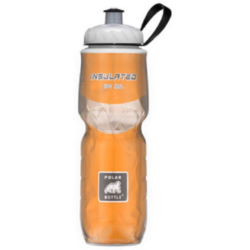 POLAR BOTTLE Water Bottle 700ml - Orange - Sport Water Bottle / Botol Minum