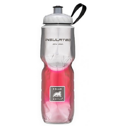 POLAR BOTTLE Water Bottle 700ml - Red Fade - Sport Water Bottle / Botol Minum