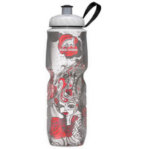 POLAR BOTTLE Water Bottle 700ml - Red Rose - Sport Water Bottle / Botol Minum