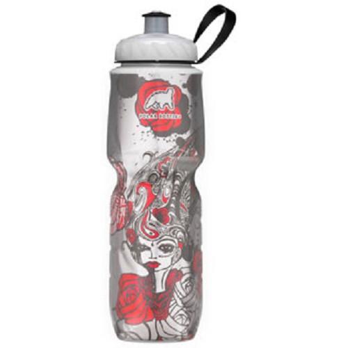 POLAR BOTTLE Water Bottle 700ml - Red Rose - Sport Water Bottle / Botol Minum