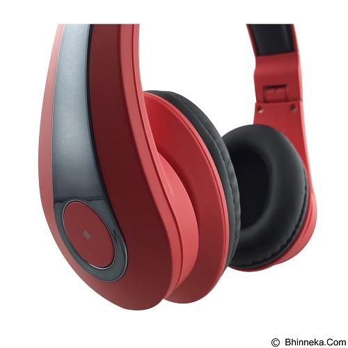 POLAROID Over Ear Headphone [PR-H004-RD] - Red (Merchant) - Headphone Full Size