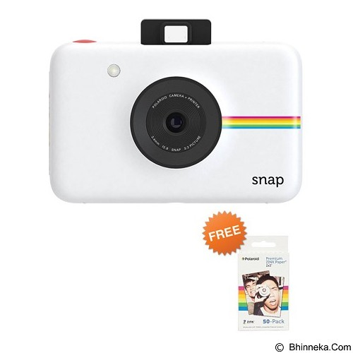 POLAROID Snap Kamera Pocket - Putih - Camera Pocket / Point and Shot