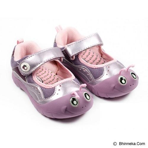 POLLIWALKS Shoes Inchee Size 12 [BZ-739] - Purple - Sepatu Anak