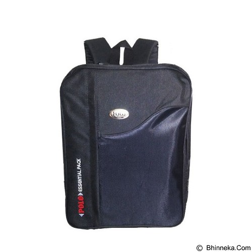 POLO Backpack Essetial Pack 3in1 Tas Ranse - Black (Merchant) - Tas Punggung Sport / Backpack
