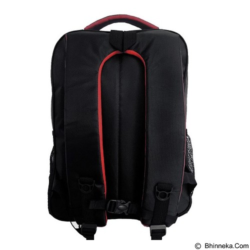 POLO Civic Meteorite Laptop Backpack - Hitam (Merchant) - Notebook Backpack