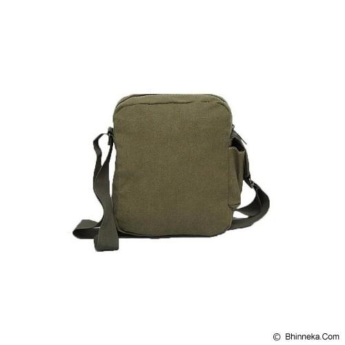 POLO HUNTER Selempang Canvass [7452] - Green  - Travel Shoulder Bag