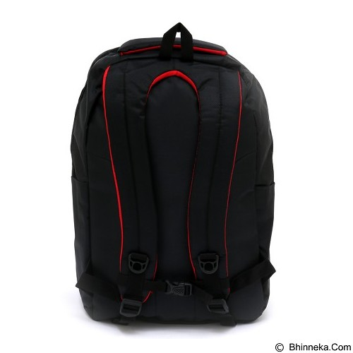 POLO Horizon Backpack with Laptop Slot + Raincover - Black (Merchant) - Notebook Backpack
