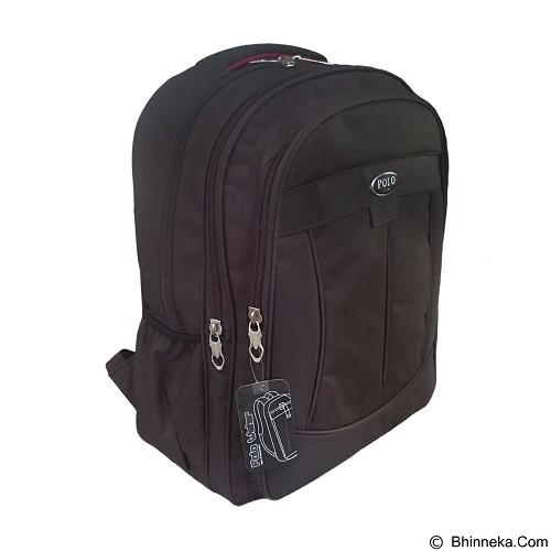 POLO USA Decker Backpack Laptop - Coklat (Merchant) - Notebook Backpack