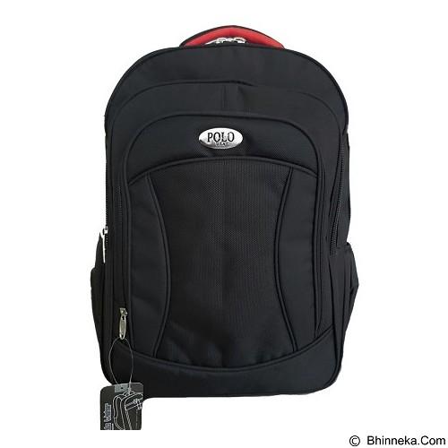 POLO USA Edward Laptop Backpack - Hitam (Merchant) - Notebook Backpack