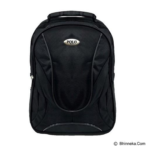 POLO USA Jazz Laptop Backpack - Hitam (Merchant) - Notebook Backpack