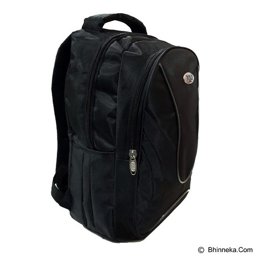 POLO USA Jazz Laptop Backpack - Hitam (Merchant) - Notebook Backpack