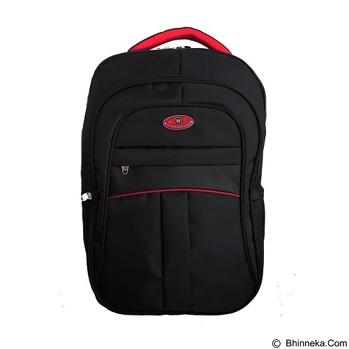 POLO USA Transformer Backpack Laptop - Hitam (Merchant) - Notebook Backpack