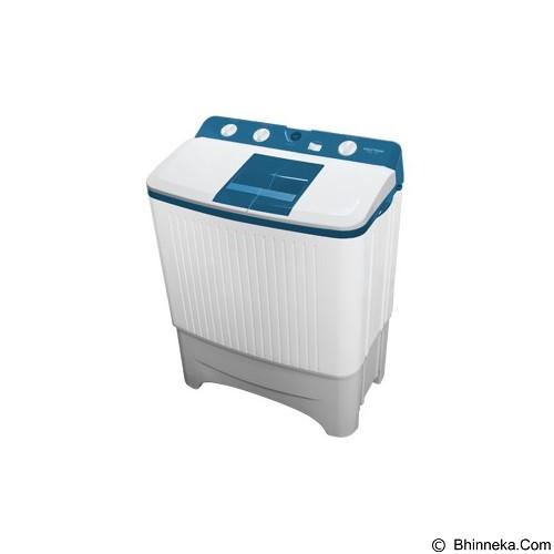 POLYTRON Mesin Cuci Twin Tub [PWM 8567WB] - White Blue - Mesin Cuci Twin Tub