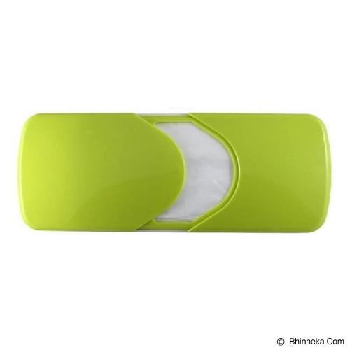 POP HOME Kotak Tissue Mobil Model Slide Dengan Klip Kawat [B301] - Green - Tempat Tissue