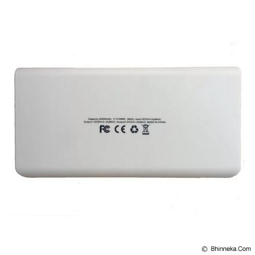 POWERBANK Powerbank 20000mAh - White - Portable Charger / Power Bank