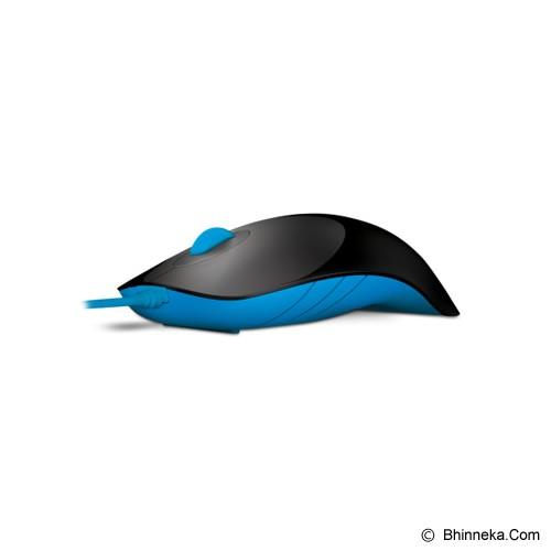 POWERLOGIC Shark - Black Blue - Mouse Basic