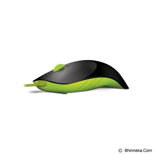 POWERLOGIC Shark - Black Green - Mouse Basic