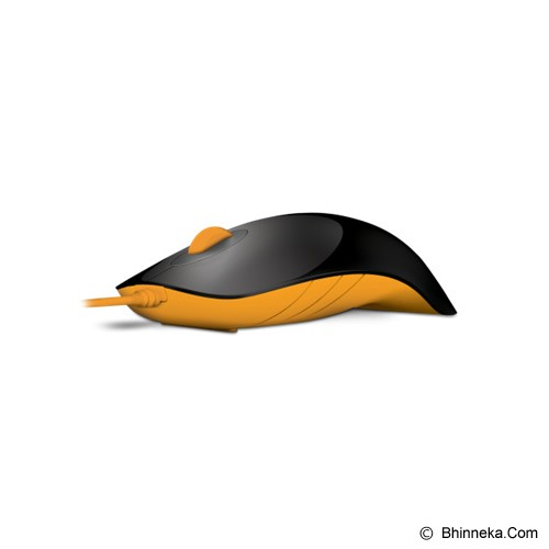 POWERLOGIC Shark - Black Orange - Mouse Basic